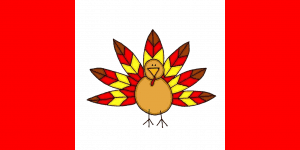 Canadian Thanksgiving Flag