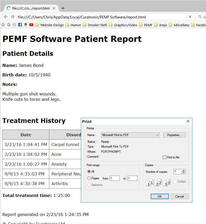 PEMF-Report